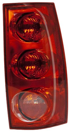 OE Replacement GMC Jimmy/Yukon Passenger Side Taillight Assembly (Partslink Number (Gmc Jimmy Passengers Side Tail)