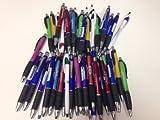 50 Wholesale Lot Misprint Ink Pens, Ball Point, Plastic, Retractable