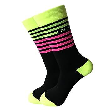 cb24ebde0daa6 ... Calcetines originelle Calcetines a rayas en 4 colores tamaños de 39 a  45 alta calidad Mujer y Hombre Calcetines: Amazon.es: Bricolaje y  herramientas