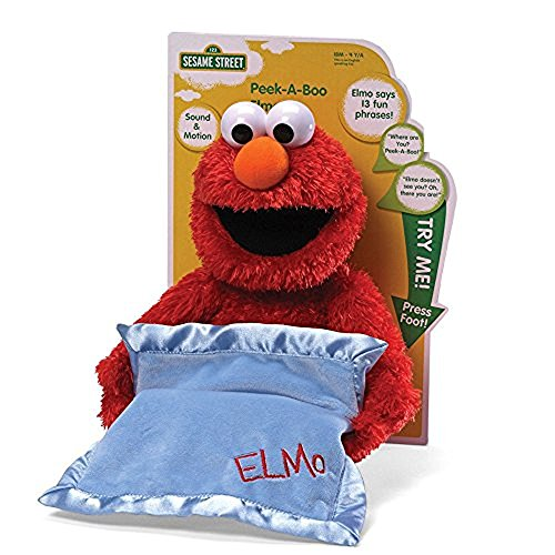 (GUND Sesame Street Peek A Boo Elmo Animated 15