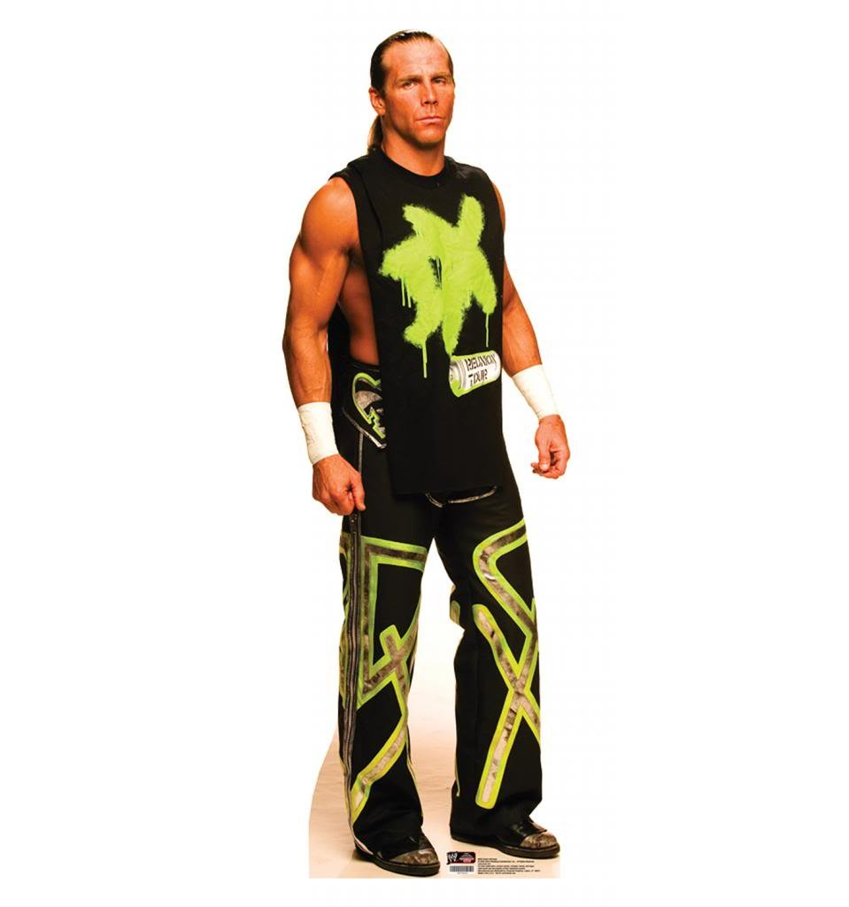 Amazon.com: Shawn Michaels - WWE - Advanced Graphics Life Size ...