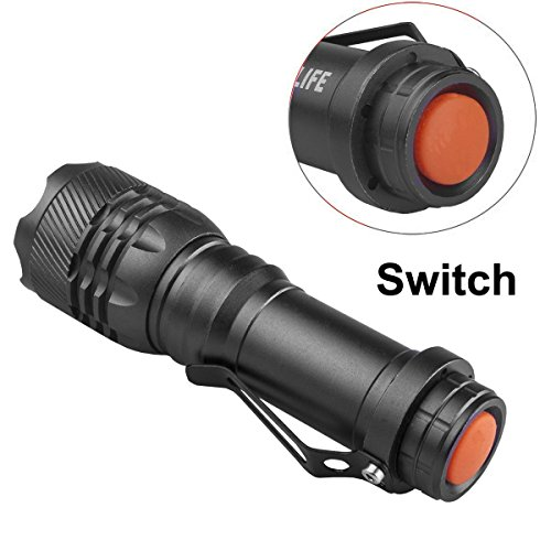 CVLIFE Tactical LED Flashlight Mini Pocket Size Light ...