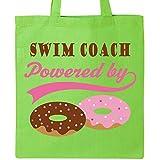 Inktastic - Swim Coach Humor Tote Bag Lime Green e5ec