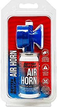 Air Horn for Boating Safety Canned Boat Accessories   Marine Grade Airhorn Can and Blow Horn or Compressed Hor
