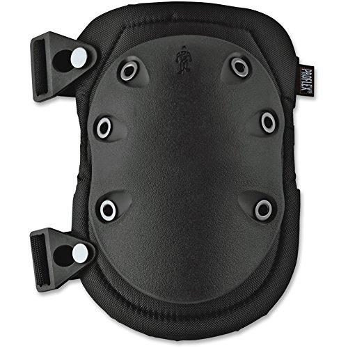 Ergodyne 18335 Slip Resistant Knee Pad 1/PR Black ()
