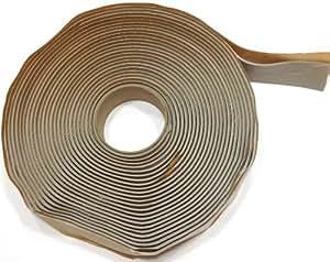 "Colormetrics Gray Putty Tape / Butyl Tape 1/8"" x 1"" x 30' (Single Roll)"