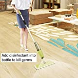 MistDriver Floor Cleaning Spray Mop with 4 Extra