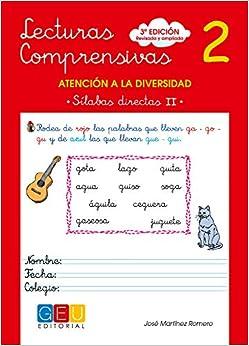 Lecturas Comprensivas 2 - Sílabas Directas Ii por José Martínez Romero epub