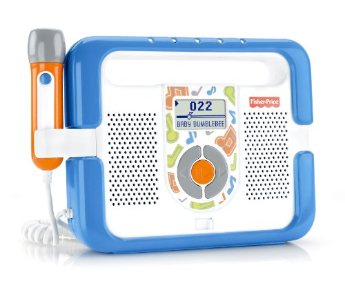 (Fisher-Price Kid-Tough Music Player with Microphone -)