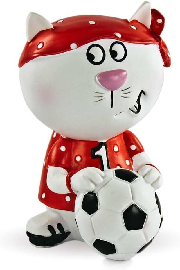 Gilde Gato Bande Gato Kiki futbolín Pintados a Mano Figura de 7,5 ...