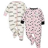 Gerber Baby Girls' 2-Pack Sleep 'N