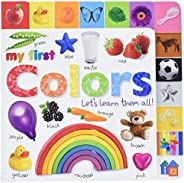 Tabbed Board Books: My First Colors: Let's Learn Them