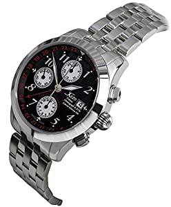Xezo mens tribune swiss made divers 2nd time zone gmt automatic self wind luxury for Xezo watches