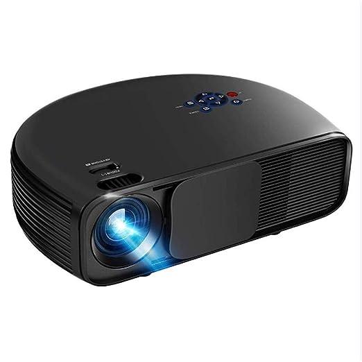 Proyector de vídeo portátil, Full HD 1080P 260 Pulgadas ...