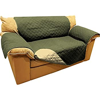 Amazon Com Reversible Microfiber Sofa Cover Throw