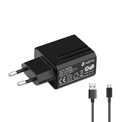 WEYO - Cargador Micro USB para Acer Iconia A1, A3, B1, One 7 ...