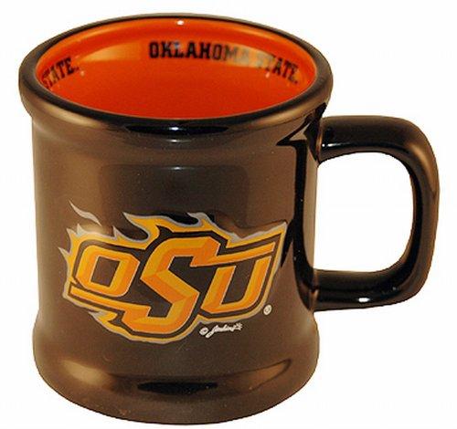(NCAA Oklahoma State Cowboys Ceramic Relief Logo Mug)