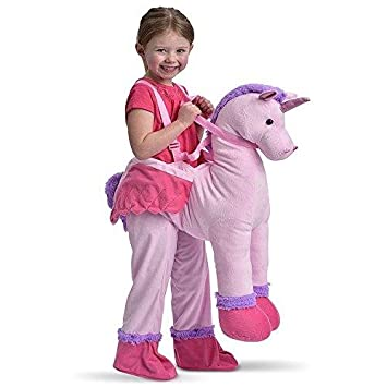 094b61501618 Childrens Dress Up Unicorn Ride On Fancy Dress Costume 3-7 Years ...