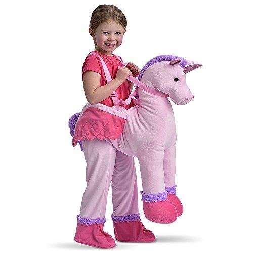 Childrens Dress Up Unicorn Ride On Fancy Dress Costume 3-7 Years