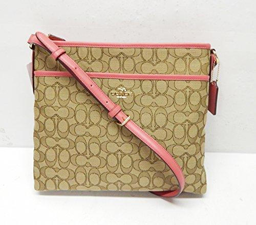 Coach Signature Crossbody Handbag Strawberry