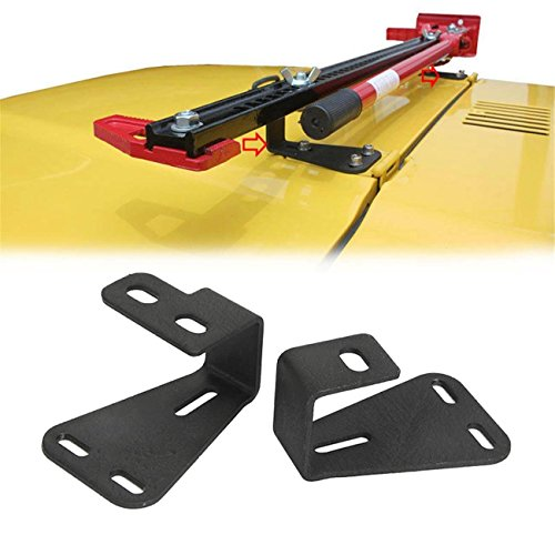 Review Samlighting Hi-Lift Jack Mount Hinge Mounting Hood Bracket for Offroad JEEP Wrangler CJ 1944-...
