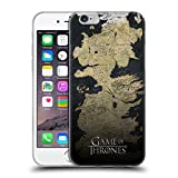 Official HBO Game Of Thrones Westeros Map Key Art Soft Gel Case for iPhone 6 / iPhone 6s