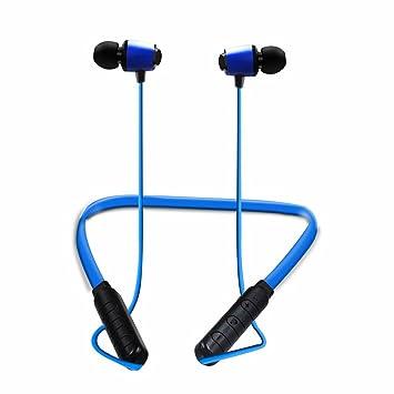 Bluetooth Auriculares, C6 Line Control Portable cuello de banda Wireless Headset de oído en deportes