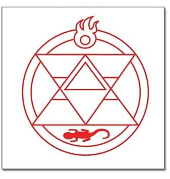 Fullmetal Alchemist Brotherhood Roy Renseijin Style Tattoo