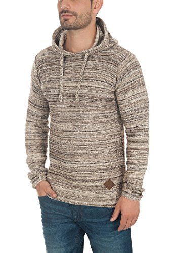 À Solid nbsp; Sweater Macall Homme Capuche 5409 Dune ESFqBSf