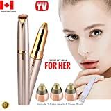 Flawless Eyebrow Hair Removal, STOUCH Eyebrows Hair Remover for Women's Trimmer Razor Shaver