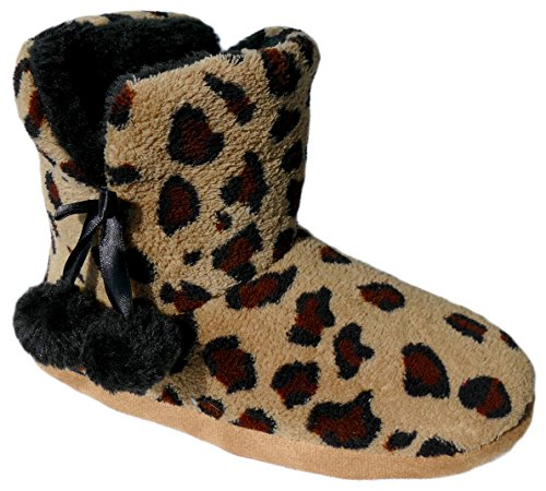 gibra Women's Slippers Brown cRyQrX2