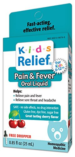 (Kids Relief Pain and Fever Oral Solution, 0.85 Ounce)