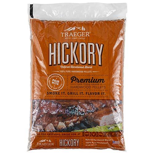 Best Traeger PEL319 Hickory 100% All-Natural Hardwood Grill Pellets