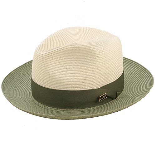 Stetson And Dobbs Hats DSTLDO-1524 Toledo Fedora, Ivory/O - XS from Stetson