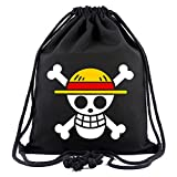 Gumstyle One Piece Anime Sackpack Drawstring Bags Gym Sack Sport Sack Backpack 1