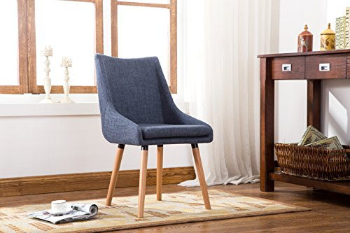 Porthos Home Bentley Dining Chair, Blue