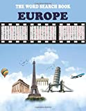 The Word Search Book: EUROPE: Activity Book for Kids, All flags of European countries, Education in a game form!