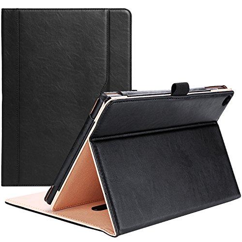 Fire HD 10 Case  - ProCase Leather Stand Folio Case Cover fo