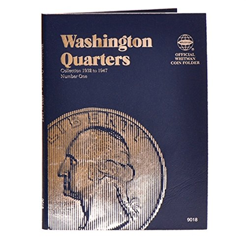 1 - Washington Quarter 4-Pack Folders - 1932 to 1998 (Whitman Folder) - - -