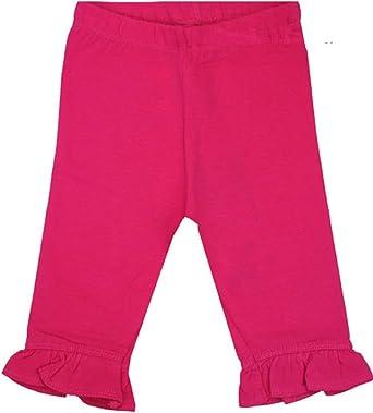 Amazon Com Me Too Fuchsia Ruffled Hem Capri Leggings Baby Girl Clothing