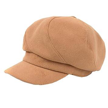 Elegante Boina Gorro Gorra Boina Sombreros Invierno para Mujer Niñas Fashion 07df6cffabe