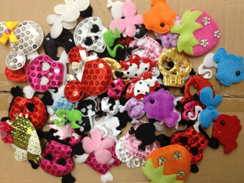 Assorted Butterflies Strawberries Flowers Skulls product image