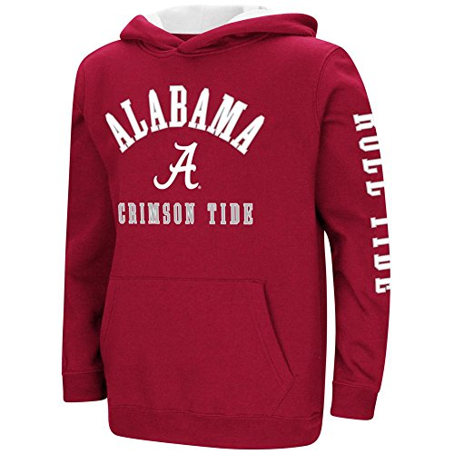 Colosseum Alabama Crimson Tide Bama Youth Hoodie Pullover Sweatshirt (YTH (16-18))
