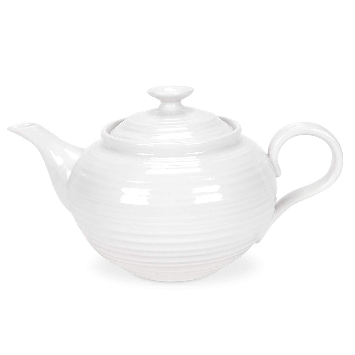 White Teapot 1.13 litres Sophie Conran for Portmeirion