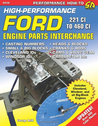 High Performance Ford Engine Parts Interchange (SA Design) from Sa Design