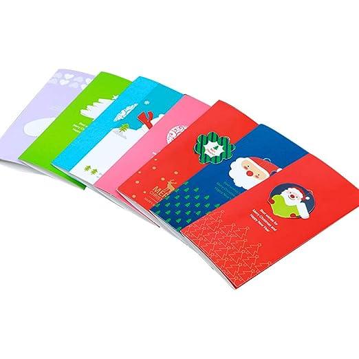 Amosfun tarjeta de navidad bendición de navidad tarjetas de ...