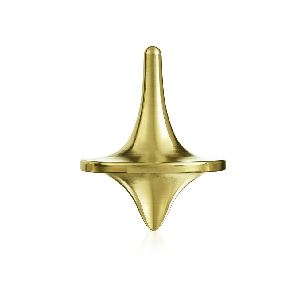 ForeverSpin Brass Spinning Top - World Famous Spinning Tops