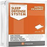 Sleep Defense System - Waterproof / Bed Bug Proof Mattress Encasement - 54-Inch by 75-Inch, Full
