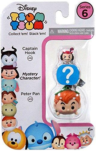 Peter Pan/HIDDEN/Captain Hook - 3 Pack Disney Tsum Tsum Seri