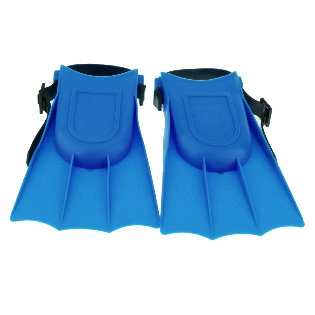MonkeyJack Kids Adults Adjustable Flippers Fins Swimming Diving Learning Tools